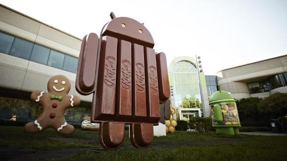 Diät mit KitKat: Wie Google Android mit Version 4.4 schrumpfte