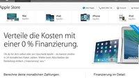 Apple: 0% Finanzierung - iPhone, MacBook und mehr per Ratenzahlung