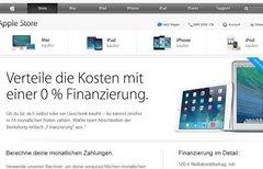 Apple: 0% Finanzierung -...