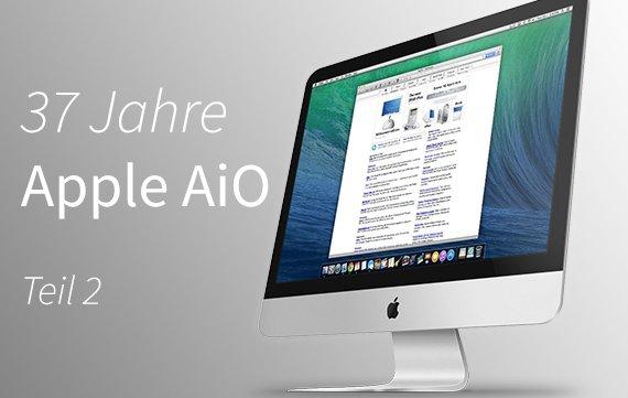 Apple-Computer von damals bis heute Teil 2: All-In-Ones (1997-2013)