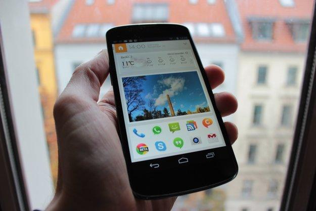 Aviate: Dynamischer, Kontext-sensitiver Android-Launcher angetestet