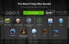 Black Friday Mac Bundle:<b> 11 Mac Apps für 37 € (u. a. Star Wars: KotoR, Motion Composer,  Mac Internet Security 2013)</b></b>