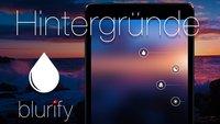 Blurify: Hintergrundbilder für iOS 7 selbst gemacht
