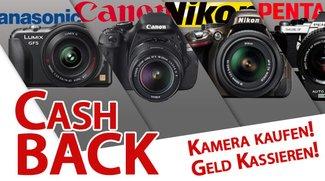 Geld zurück auch von Nikon, Pentax und Panasonic