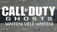 Call of Duty Ghosts: Alle Waffen und Ausrüstungsgegenstände auf einen Blick