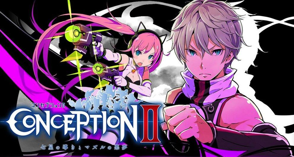 Conception 2 Children Of The Seven Stars Anime Rpg Erscheint In