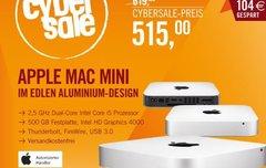 Apple Mac Mini (MD387D/A) mit Core i5, 4GB RAM und 500 GB HDD für 515 €</b>