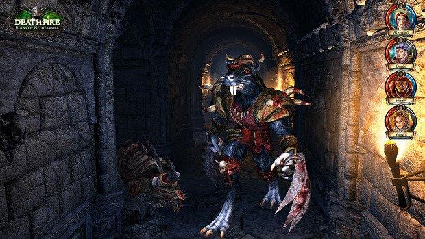 Deathfire - Ruins of Nethermore: Exklusiver Screenshot, Kickstarter-Trailer