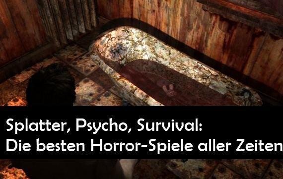 Die besten Horrorspiele aller Zeiten: Thrill me, Kill me