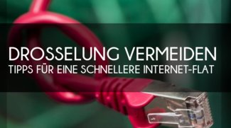 Flatrate-Drosselung auf GPRS verhindern: Tipps für eine schnelle Internet-Flat