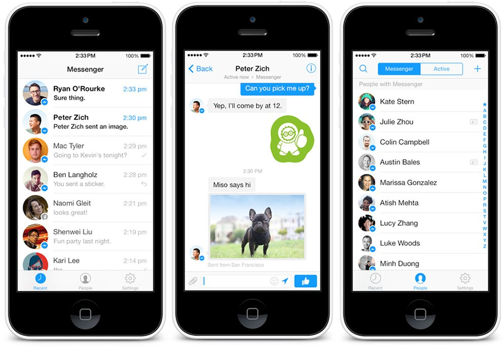 Facebook Messenger 3.0