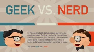 Geek vs. Nerd: Was seid ihr? (Infografik)
