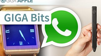 GIGA Bits: WhatsApp im iOS-7-Design, Galaxy Gear und ein Stylus fürs iPad