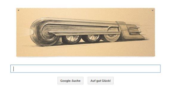 Raymond Loewy: Google Doodle ehrt den Erfinder der Stromlinienführung