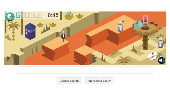 Google Doodle Game: Doctor Who
