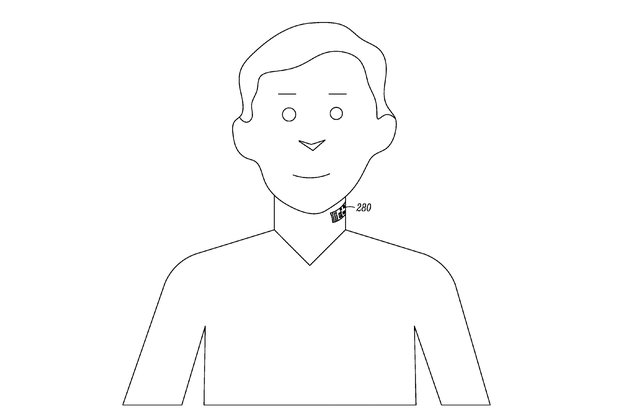 Google: Elektronisches Tattoo mit Mikrofonfunktion patentiert
