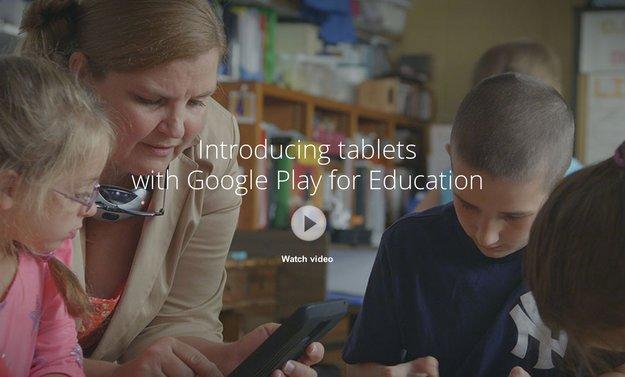 Google Play for Education: Play Store für Unterrichtsmaterial in den USA gestartet