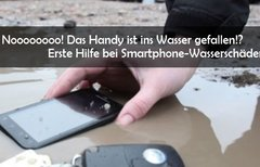 Handy ins Wasser gefallen: Ein...