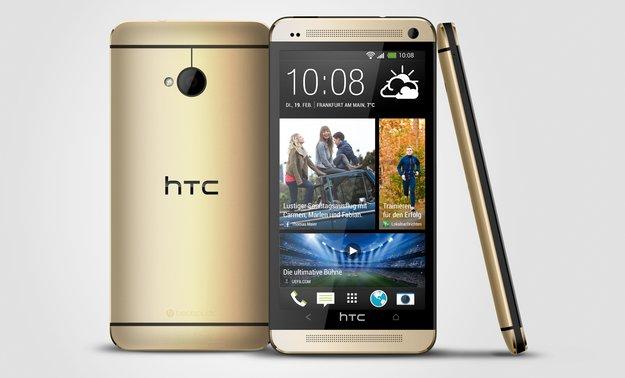 HTC One: Goldenes Modell ab Anfang Dezember bei O2 Deutschland