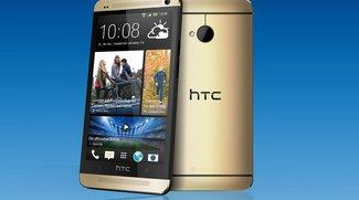 HTC One: Gold-Version jetzt exklusiv bei O2 Deutschland bestellbar