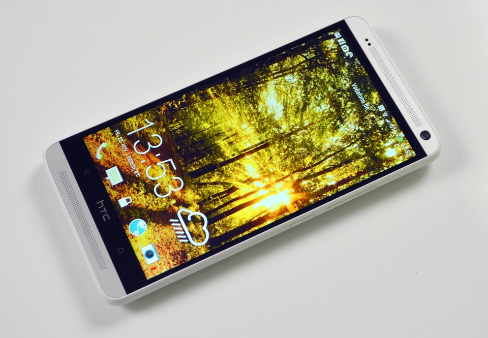 HTC One max im Test: Wuchtbrumme mit Alu-Rücken