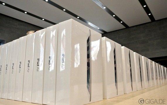 iPad Air neu im deutschen Apple Store: Teilweise ausverkauft (Update)