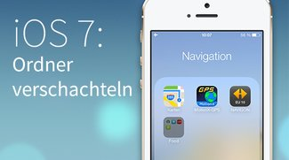 Geheime Funktion in iOS 7: Der Ordner im Ordner (im Ordner)