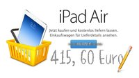 iPad Air kaufen: Aktuelle Preise und Verfügbarkeiten