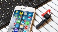 iPhone & Bluetooth: Daten übertragen, Tastatur nutzen