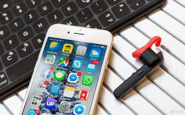 iPhone & Bluetooth: Tastatur, Lautsprecher und Kopfhörer mit dem Smartphone verbinden