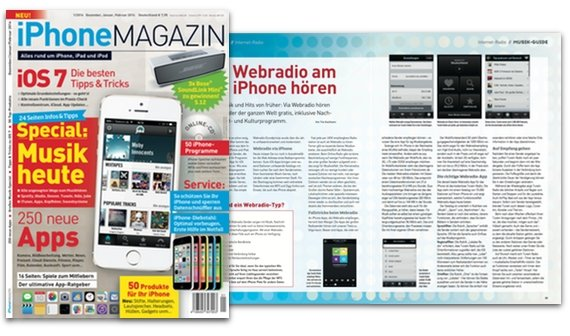 Webradio am iPhone hören