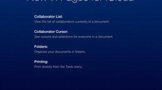 iWork für iCloud: Apple bringt weitere Kollaborations-Features