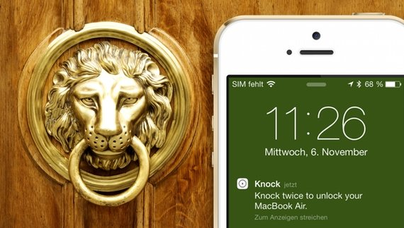 Mac mit dem iPhone entsperren: Knock ID statt Touch ID (Test)