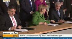 Koalitionsverhandlungen 2013: Die Pressekonferenz im Livestream
