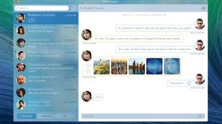 Messages für OS X: Schickes Design-Konzept für Apples Messaging-Dienst
