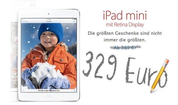 iPad mini mit Retina Display kaufen: Preise und Verfügbarkeiten