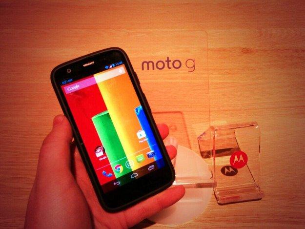 Moto G : Warum Motorola (fast) alles richtig macht (Kommentar)