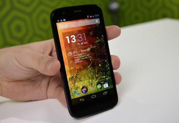 Moto G: 16 GB-Modell bei Amazon und Co. ab nächster Woche verfügbar – wirklich