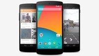 Nexus 5 und Co.: Ab sofort auch bei Google Play in der Schweiz erhältlich