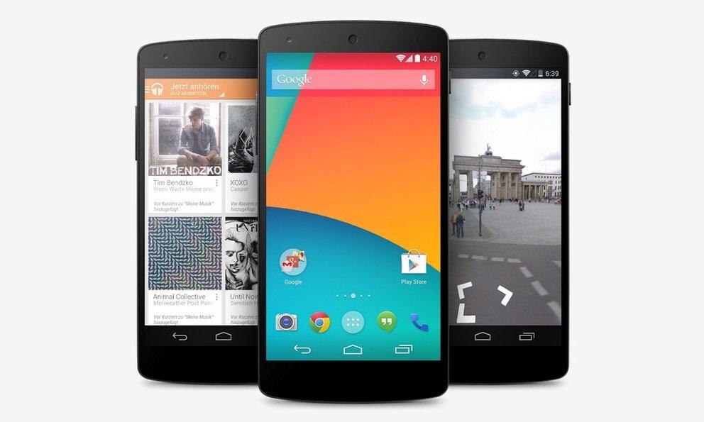 Android 4.4 KitKat: Die Google-Suche ist der Launcher