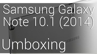 Samsung Galaxy Note 10.1 (2014) Umboxing