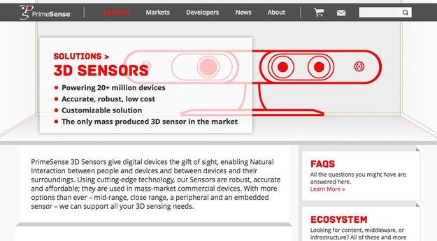 Apple kauft 3D-Sensoren-Spezialisten PrimeSense