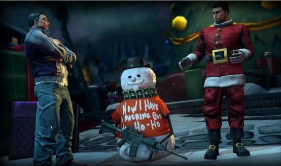 Saints Row 4: DLC How The Saints Save Christmas angekündigt (Screenshots)