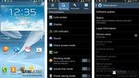 Samsung Galaxy Note 2: Neue Android 4.3-Firmware XXUEMK4 durchgesickert