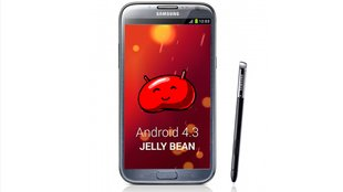 Samsung Galaxy Note 2: Android 4.3-Update rollt in Deutschland aus