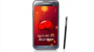 Samsung Galaxy Note 2: finale Android 4.3 Firmware geleakt