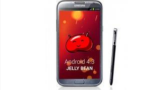 Samsung Galaxy Note 2: Android 4.3-Update rollt in Deutschland aus