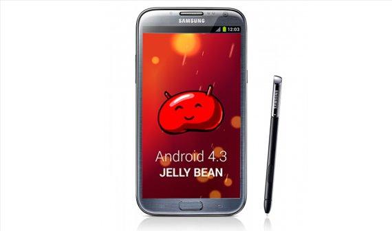 Android 4.3 könnte bald für das Samsung Galaxy Note 2 kommen