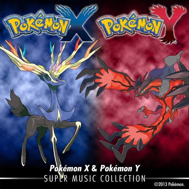 Pokemon X / Y: Super Music Collection bei iTunes erhältlich