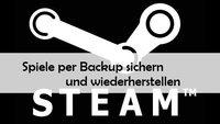 Spiele per Steam Backup sichern und wiederherstellen